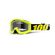 100% Strata Youth Goggle neon yellow / clear